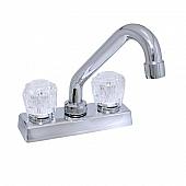 Phoenix Products Faucet 2 Handle Chrome Plastic for Kitchen PF211304