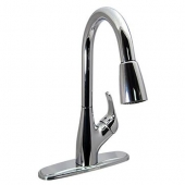 Phoenix Products Faucet Chrome Plastic for Kitchen PF231361