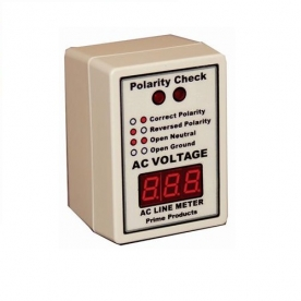 Prime Products Line Voltage Monitor 110 Volt To 130 Volt Digital Display