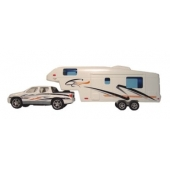 Prime Products RV Die Cast Metal And Plastic Fifth Wheel And Truck Toy