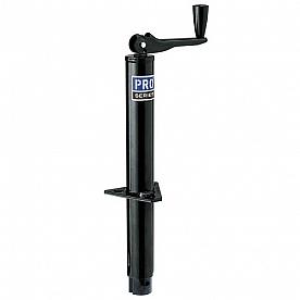 Pro Series Topwind Manual A-Frame Tongue Jack - 2000 LB Black EA20000103