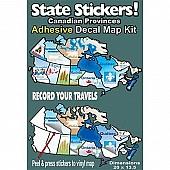 Travel Map Sticker  Vinyl