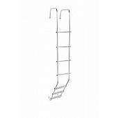 Stromberg Carlson Universal RV Aluminum Ladder, 7.70', 7 Steps