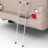 Universal Aluminum Ladder Use With Rear RV Ladder 4 Step Extension