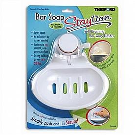Bar Soap Holder Staytion (TM) White