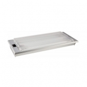 "Thin-Lite Interior Light 700 Series Dual Fluorescent Tube - 14.75"" x 6.6"" - 16 Watts - DIST-712XL"