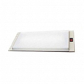 """Thin-Lite Interior Light  700 Series For Shallow Ceilings Dual Fluorescent Tube - 20.5"""" x 6.6"""" - DIST-736"""