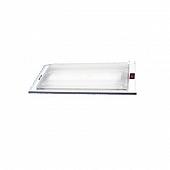 "Thin-Lite Interior Light  700 Series Recessed Dual Fluorescent Tube - 19.1"" x 6.1"" -  DIST-746NS"