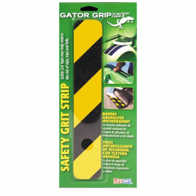 Grip Tape for RV Steps Yellow and Black 3'' x 16''