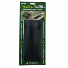 NeoTac Grip Tape Black 4'' x 9'' for RV Steps - Pack Of 2