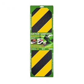 "RV Step Gator Grip Tape Yellow And Black - 6"" x 21"""