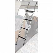 Universal Aluminum Ladder, Docking System Mount 60'' 4 Step - 300 LB