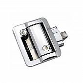 Wesco Fastec Entry Door Lock Dead Bolt Latch - Chrome - 43610-00-SP