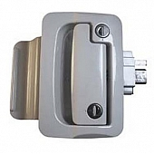 Wesco Fastec RV Entry Door Lock Assembly White - 44610-09-SP