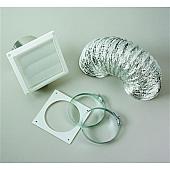 Clothes Dryer Vent Installation Kit  Splendid