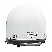 Winegard Dish Playmaker Dual Portable Satellite TV Antenna - White - PL-8000
