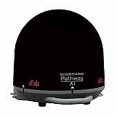 Winegard Pathway X1 Portable Truck Satellite TV Antenna - Black - PA-2035