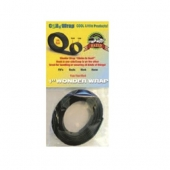 AP Products Hook And Loop Coil  Tape - Wonder wrap - 5 Foot by 1 Inch Black