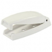 JR Products Baggage Door Catch White Set Of 2 - White