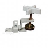 Fold-Out Bunk Clamp Zinc Plated White