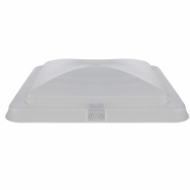 """Heng's Replacement Roof Vent Lid 14"""" x 14"""" Thermal Pane Roof Cap White with Slide Bar 90110-C1DL"""