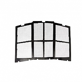 MaxxAir Roof Vent Cover Fan/ Mate Bug Screen - White/Black 00-955202