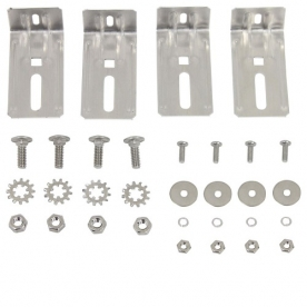 MaxxAir Roof Vent Cover Mounting Kit - Bolt-On with Bracket 00-225000