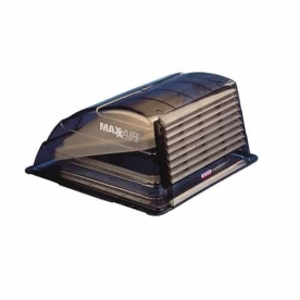 MaxxAir Roof Vent Cover Vented On One Side - Smoke 00-933067