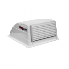 MaxxAir Roof Vent Cover Vented On One Side - White 00-933066