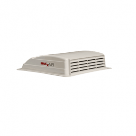 MaxxAir Roof Vent Manual Opening without Fan - White  00-03700
