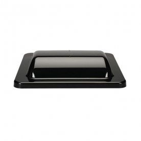 MaxxAir UniMaxx Universal RV Vent Lid Replacement Kit - Smoke 00-335002