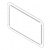 Dometic Furnace Large Door Bezel for 8900 Series White - 32423